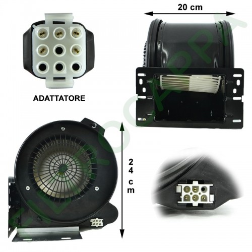 MOTOR 1000 MC/H FOR COOKER HOOD AIRONE 4 SPEED CEMCA1000002400005 SIT T50DT073