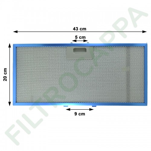 METAL FILTER FOR ELICA BOX...