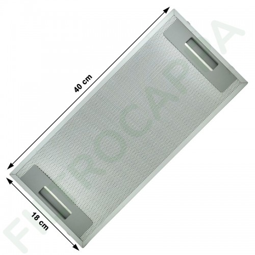 METAL FILTER 18 X 40 CM FOR FABER COOKER HOOD 133.0073.624