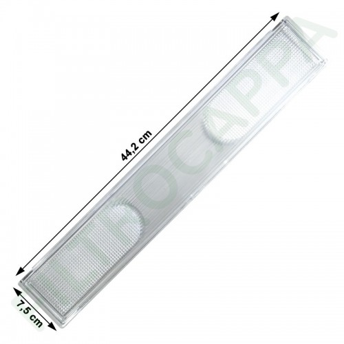 LAMP COVER 44 X 7,5 CM FOR ELICA TURBOAIR COOKER HOOD 10201350