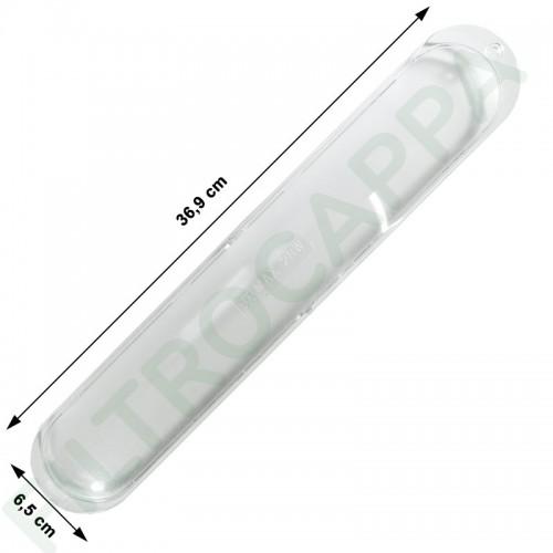 LAMP COVER 36,9 CM X 6,5 CM FOR FALMEC SMEG ELICA TURBOAIR COOKER HOOD 103020102