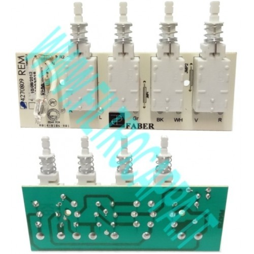 ELECTRONIC BOARD FOR COOKER HOOD FABER 4270809 133.0062.132