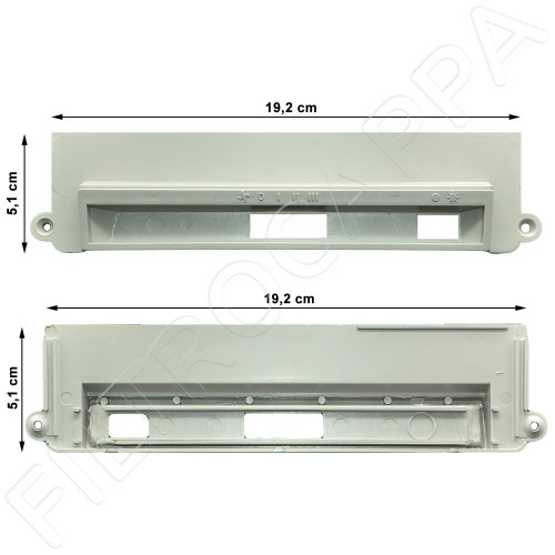 DASHBOARD FOR COOKER HOOD Elica TURBOAIE ESTRAIBILE EX77 CT1CAA