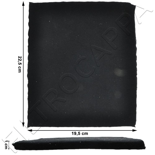 CHARCOAL FILTER LONG LIFE 18 X 22 CM MOD 20 FOR COOKER HOODS ELICA TURBOAIR ELECTROLUX AEG F00431/S