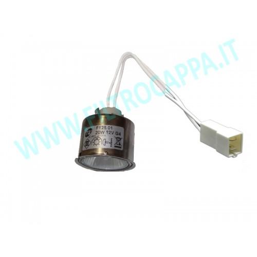 DICHROIC SPOTLIGHT 12V 20W G4 FALMEC 105040205  F125.01 20W 12V G4