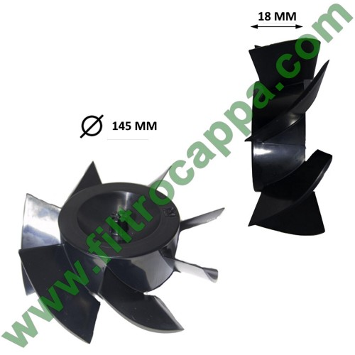 FAN WHEEL FOR VORTICE MF 150/6 1.211.001.022