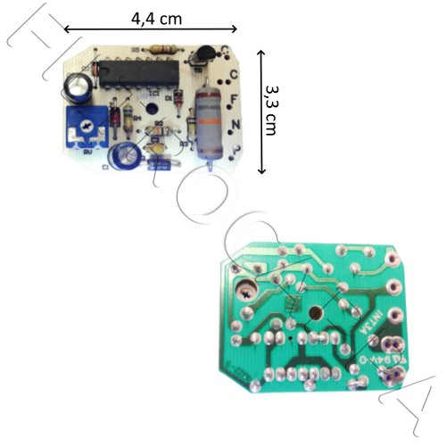 TIMER ELECTRONIC BOARD FOR VORTICE FAN VORT MICRO T 11910 5.247.000.108