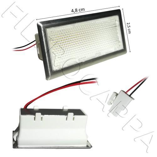 FARETTO LED RETTANGOLARE 1 W 12V 3200 K CAPPA FALMEC 105040243