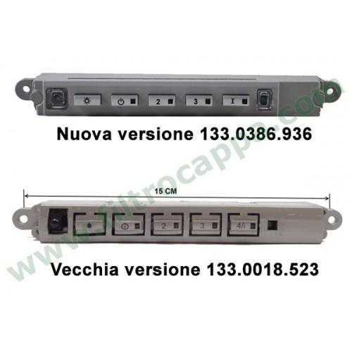 Tastiera elettronica cappa faber franke electrolux 133.0386.936 EX 133.0018.523