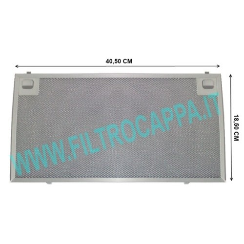 FILTRO METALLICO 40 X 18,5 CAPPA KSET910X ORIGINALE SMEG 073410596