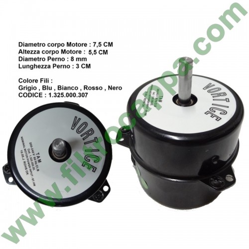 MOTOR FOR VORTICE MICRO 2 SPEED  220 VOLT 1.325.000.307