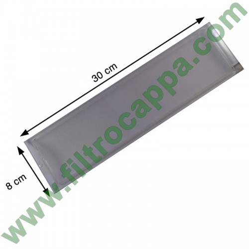 LIGHT DIFFUSER 30 X 8 CM FOR COOKER HOODS AIRONE CEPL300X800