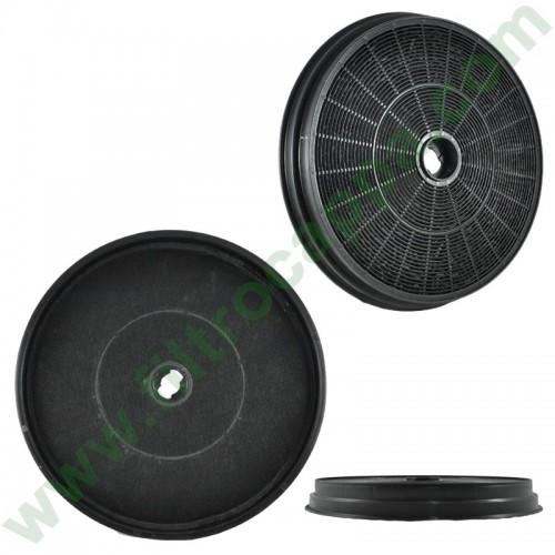 Filtro carbone attivo Baraldi Tecnolam Fim kappe diametro 22 cm FK306