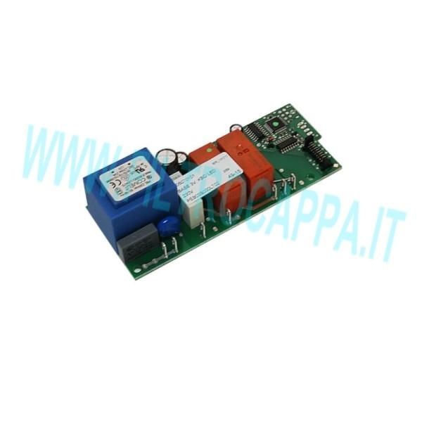 MAIN POWER CONTROL BOARD FALMEC COOKER HOOD FOR 3 SPEED MOTORS 105070101