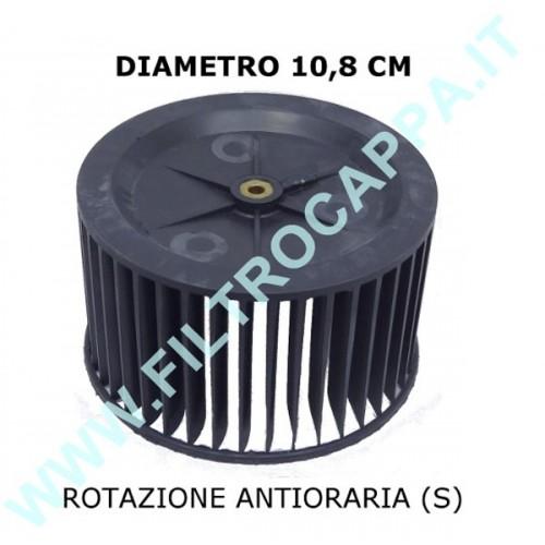 VENTOLA GIRANTE MOTORE SINISTRA DIAMETRO 10,8 CM H 6,7 CM FABER 133.0052.893